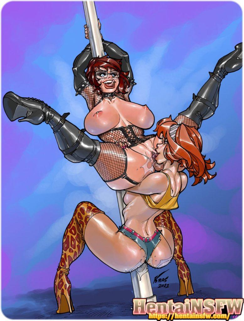 hardcore cartoon lesbian porn