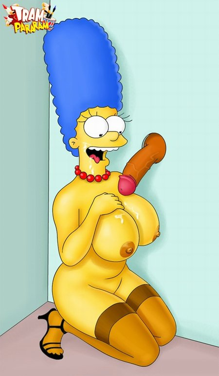Marge Simpson Enjoys Gloryhole Se