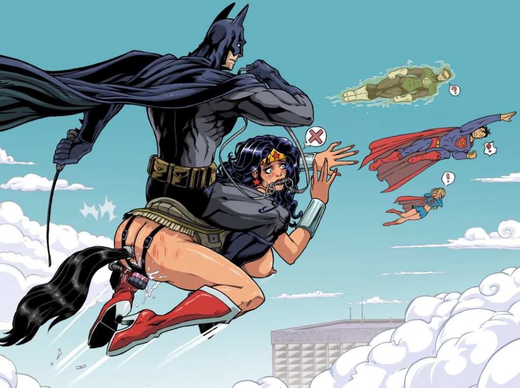 superhero cartoon porn pics